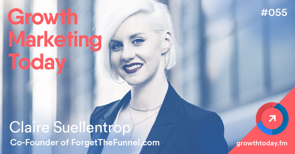 Claire Suellentrop on Growth Marketing Today Podcast