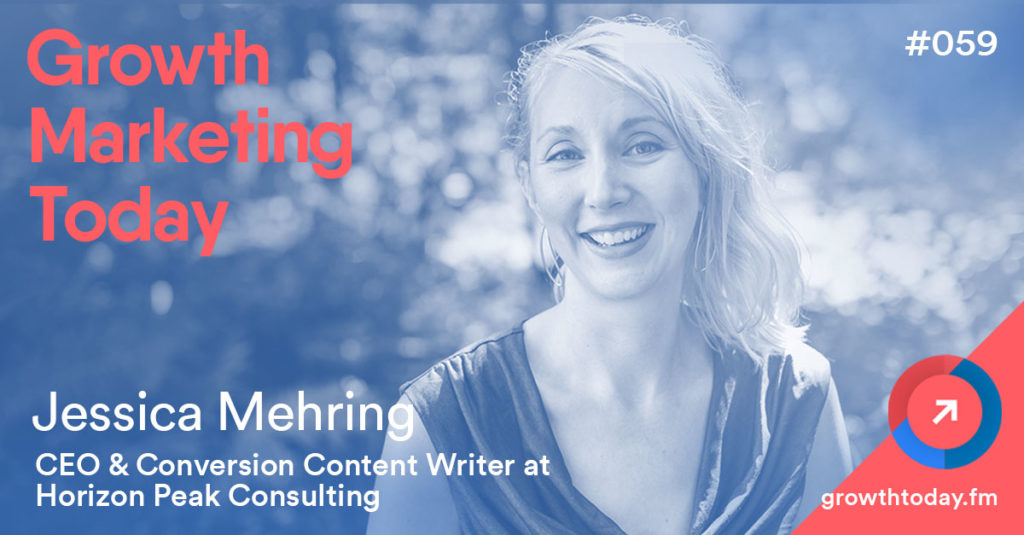 Jessica Mehring on Growth Marketing Today Podcast