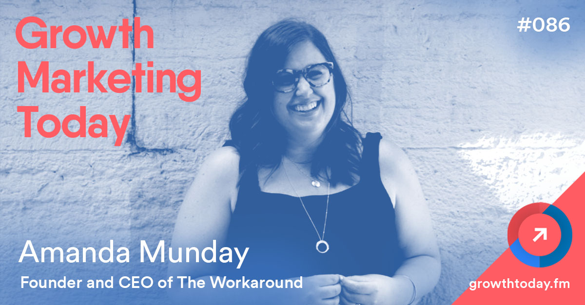 Amanda Munday on Growth Marketing Today Podcast